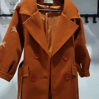 Flanel Wool Coat  (SEWA)
