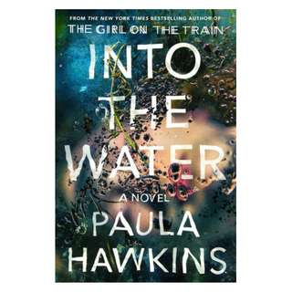 E-book English Novel - Into the Water by Paula Hawkins