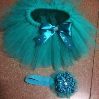 Tutu skirt with headband