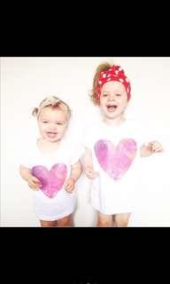 Heart shape Tshirt