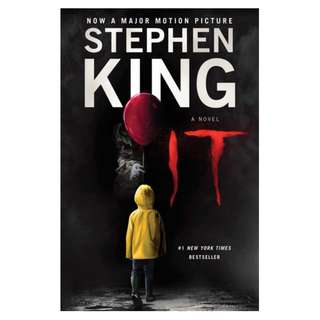 E-book English Novel - It by Stephen King