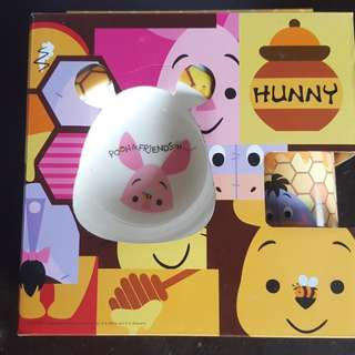 3 piece feeding set - Pooh and friends