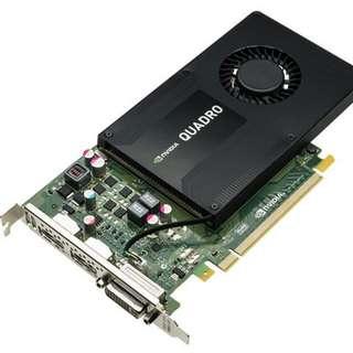 Nvidia Quadro K2200 4GB GDDR5 Professional Graphics