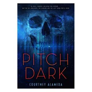 E-book English Novel  - Pitch Dark by Courtney Alameda