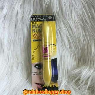 Maybelline mascara & eyeliner