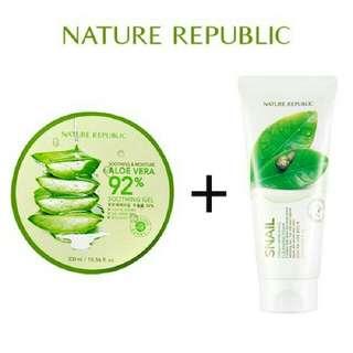 Nature Republic + Cleansing Foam