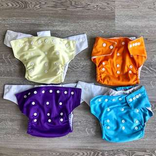 Cloth Diapers - adjustable washable diaper