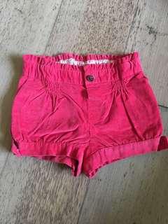 Zara baby shorts