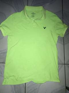 Auth american eagle polo shirt