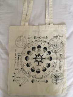 H&M Canvas tote bag