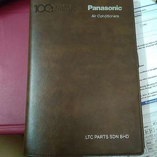 Panasonic Diary Book 2018 #swap