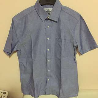 BN Authentic Pierre Cardin Fitted Short sleeve shirt size 15