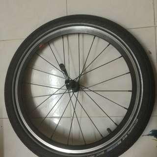 Dahon wheelset 406
