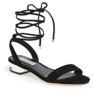 Steve Madden Suede Lace Up Sandals