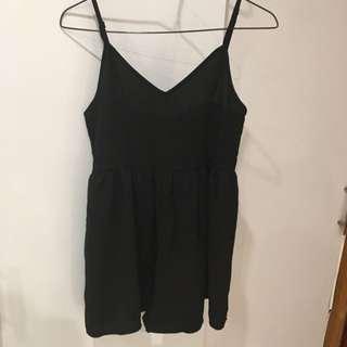 Black Loose Jumpsuit