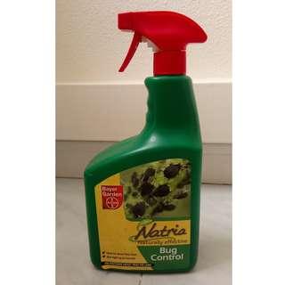 naturally effective bug control pesticide spray