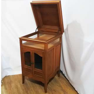 Antique Gramophone Side Cabinet (Refurbished)