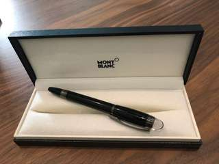 Mont Blanc Starwalker Midnight Black Fineliner Pen