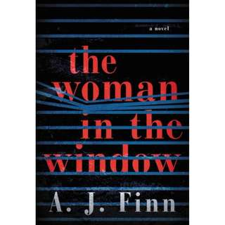 E-book English Novel  - The Woman in the Window by A J Finn
