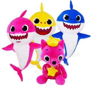 Baby Shark Plush Toy Soft Toy Pink Fong