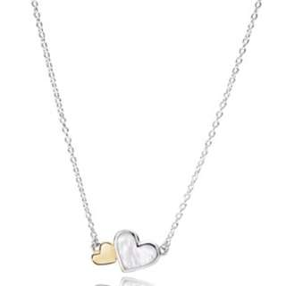 Pandora Luminous Hearts Necklace