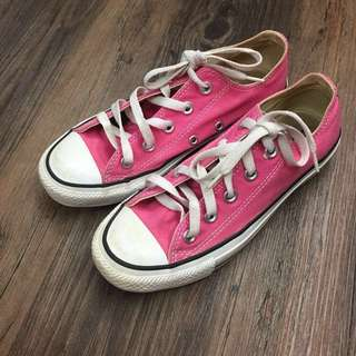 Pink Converse (authentic)