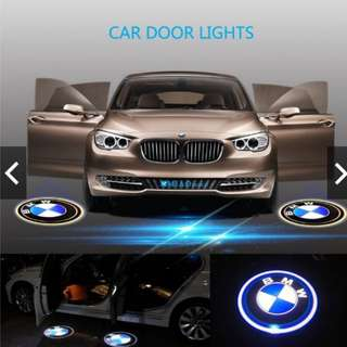 2PCS Car Door Lights Wireless Welcome Lamps Projector Lights LED HD Logo Lights