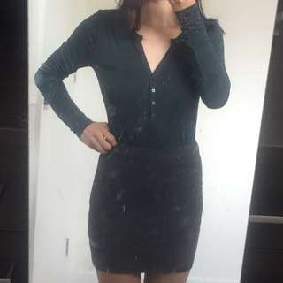 H&M Bodycon Mini Skirt