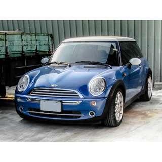 【先誠實再成交•僅跑11萬公里保證】2004 MINI Cooper 1.6