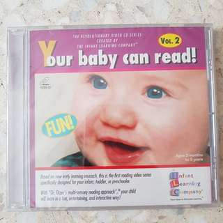 NEW Baby Can Read VCD BY MAIL Only