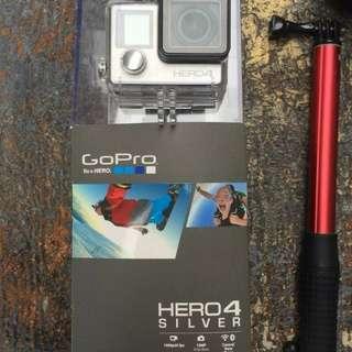 GoPro Hero 4 Silver Full Accesoris