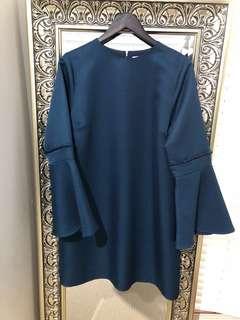 Cooper St long sleeve dress