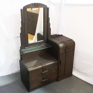 Antique Art Deco Dressing Table (Refurbished)