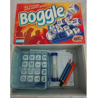 Boggle Word Puzzle
