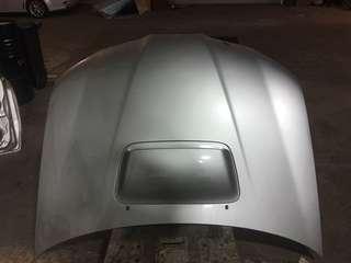 Subaru hawk eyes front bonnet aluminium