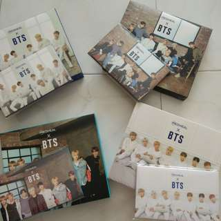 BTS  card and box