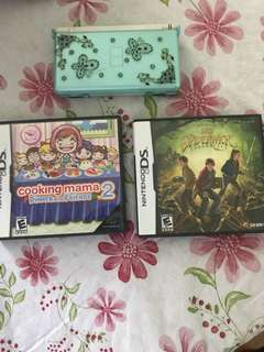 Nintendo DS Plus 2 game all in 1 price!