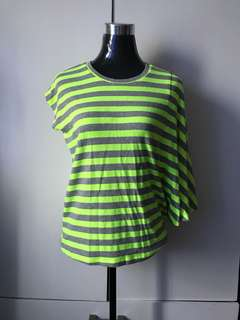 Neon stripes Top
