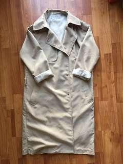Oak + Fort trench jacket