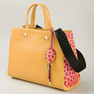 MCM Limited Edition Giraffe Pink Tote