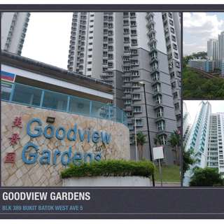BLK 389 BUKIT BATOK WEST AVE 5, BRIGHT AND BREEZY VERY HIGH FLOOR 5-ROOM HDB FOR SALE!!!