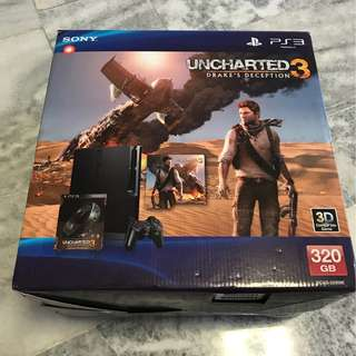 LIMITED edition PS3 SLIM + 5 GAMES