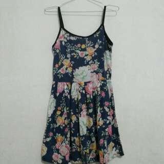 Dress Floral Navy