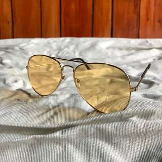 Aviator-Yellow Tinted
