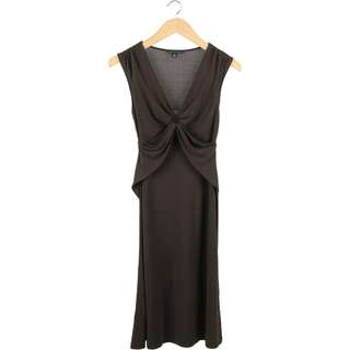 Banana Republic Brown Midi Dress