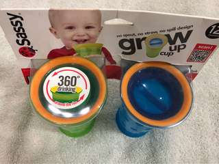 Sassy Grow Up Cups (set of 2)