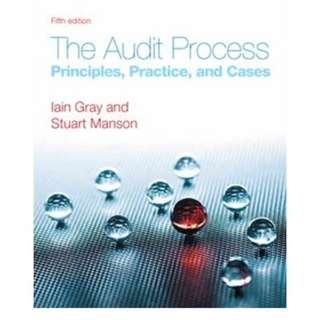 The Audit Process : Principles, Practice and Cases (5th Edition)
