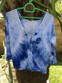 Blouse tiedye