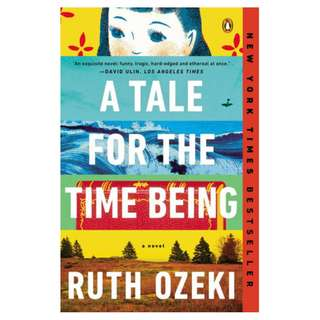 E-book English Novel  -  A Tale for the Time Being by Ruth Ozeki