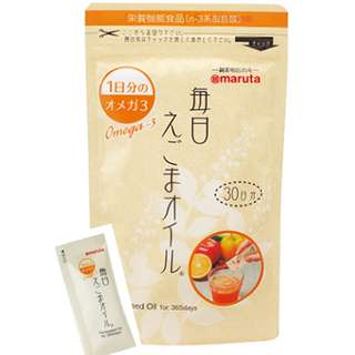 日本Maruta 荏胡麻油 Egoma Oil (3g x 30小包)